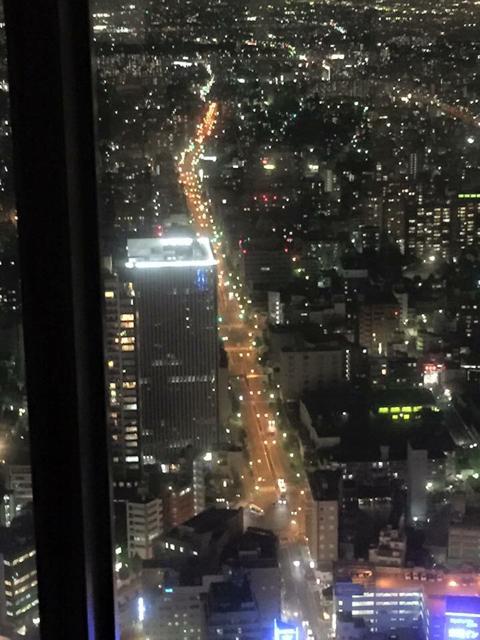ミッドランドスカイプロムナード 名古屋の夜景